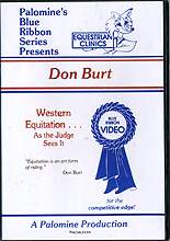 Western Equitation - As the Judge Sees It by Don Burt
