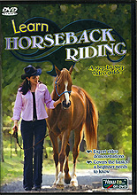 Learn English Horseback Riding : A Step By Step Video Guide by Leonie Baker