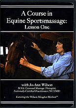 A Course in Equine Sports Massage  by Jo-Ann Wilson